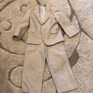 Boy's Linen Suit